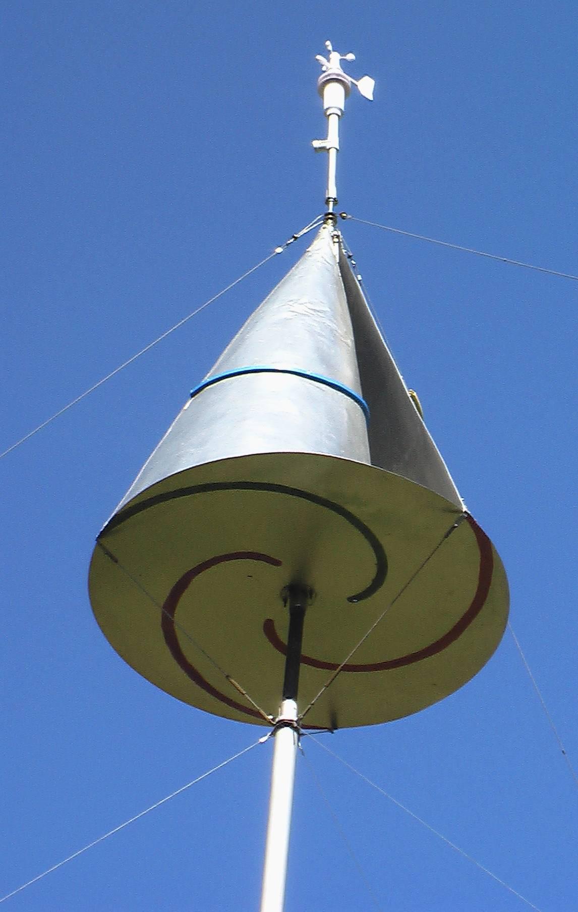 Homemade Vertical Wind Generator Wind power